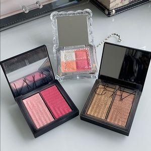 Blush, bronzer and highlighter bundle